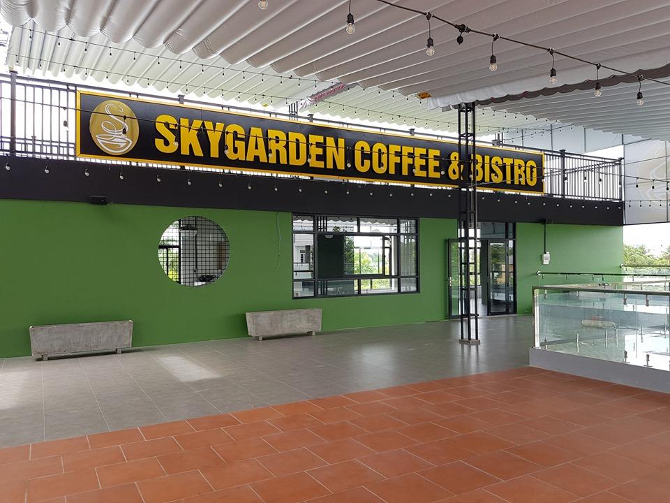 CÔNG TRÌNH COFFEE SKY GARDEN- TP SA ĐÉC -  ĐỒNG THÁP